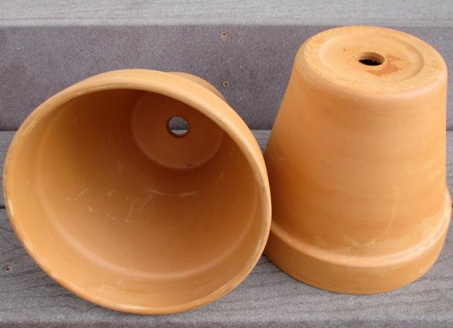 Pots with holes