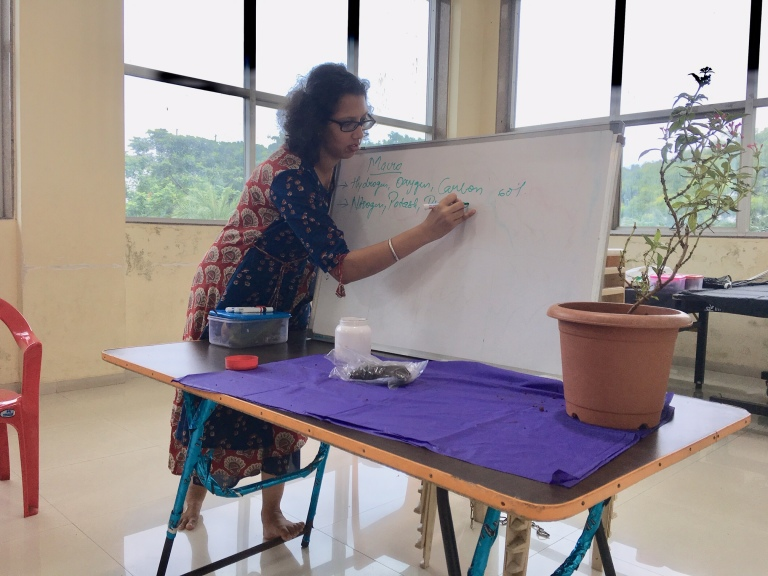 Gardening Workshop at Raj Legacy, Vikhroli, Mumbai by Reema Gopalan
