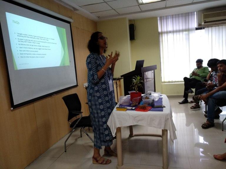 Gardening Seminar at Tech Mahindra Mumbai