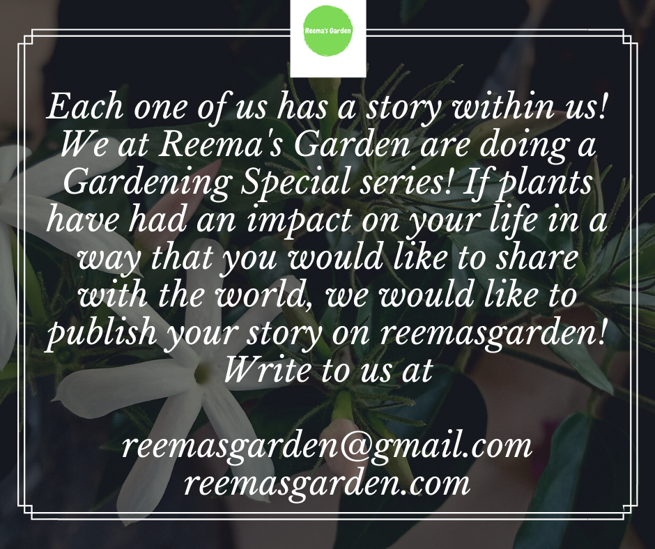 Share Your Story with Reema's Garden
