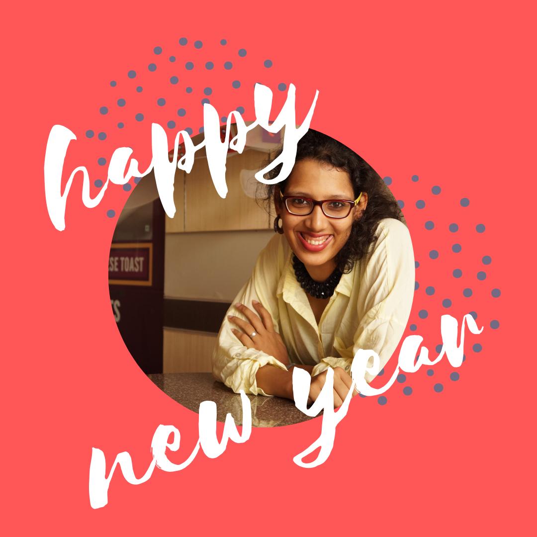 Reema's Garden & Reema Gopalan wishing Happy New Year