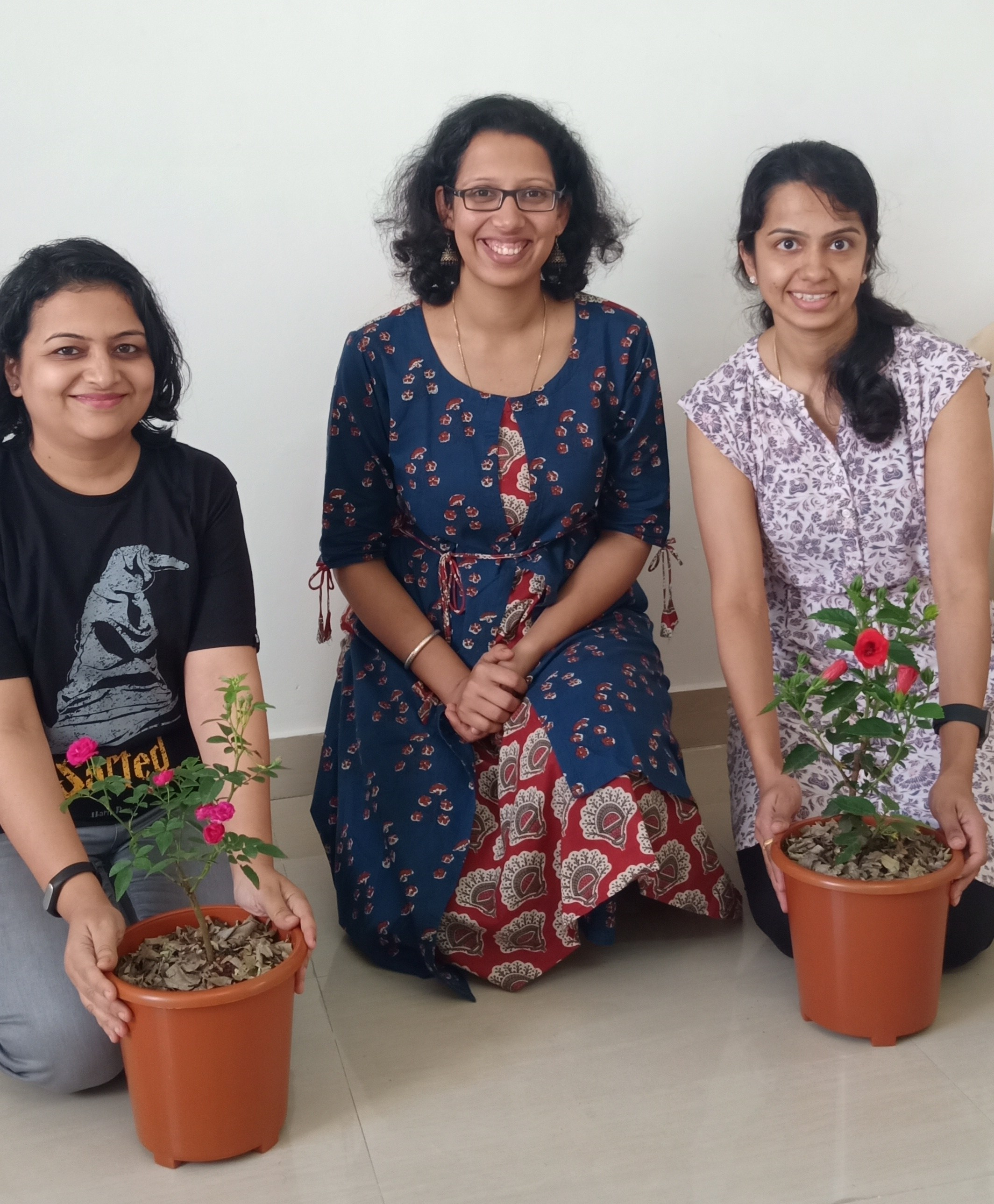 Gardening workshop image with Reema Gopalan at Reema's Garden