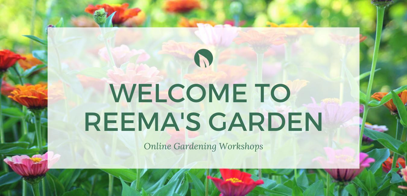 Welcome to Reema's Garden